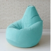 Кресло груша пуф Blue