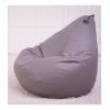 Кресло груша мешок серый