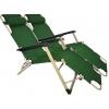 Комплект шезлонгов для дачи 180 см темно-зеленый (2 шт)