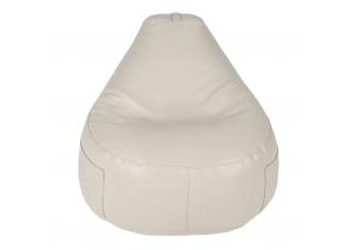 Бескаркасное кресло F1 Белое