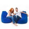 Бескаркасное кресло F1 Синее
