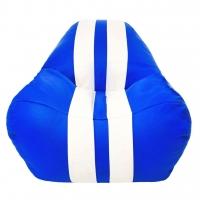 Бескаркасное кресло Gamer Синее