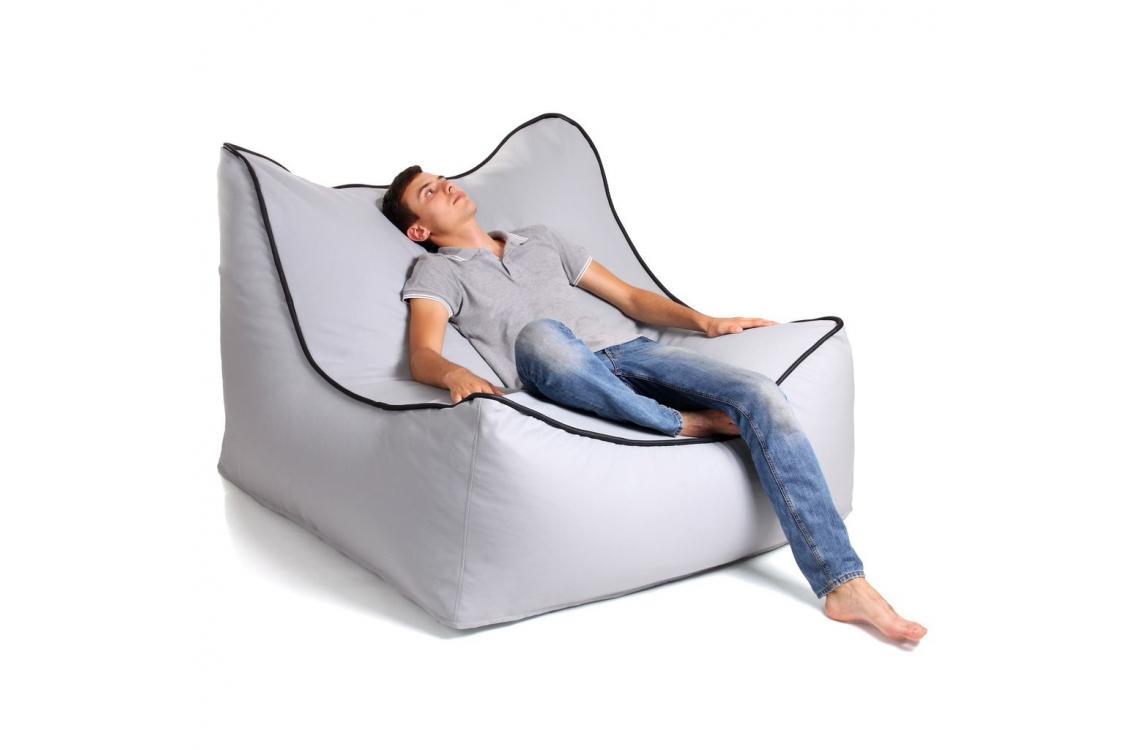 Бескаркасное кресло Jamaica Gray