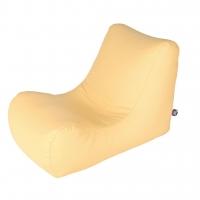 Бескаркасное кресло лежак Жан-Жак Экокожа