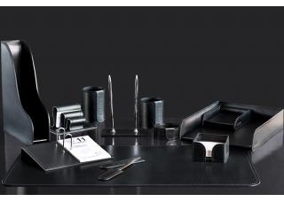 Наборы из кожи FG Bologna Black 12 предметов