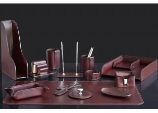Наборы из кожи FG Bologna Brown 12 предметов