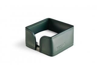 Лоток для блока бумаги, кожа Сuoietto, цветзеленый