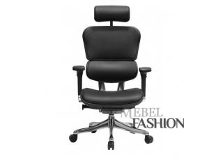Эргономичное кресло Ergohuman Plus Black Кожа