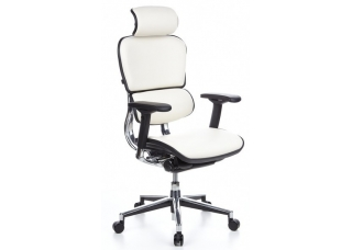 Кресло Ergohuman Plus Comfort Seating White Кожа
