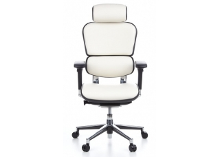 Кресло Ergohuman Plus Comfort Seating White Кожа