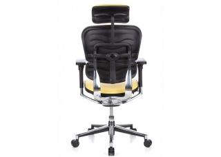 Кресло Ergohuman Plus Yellow Кожа