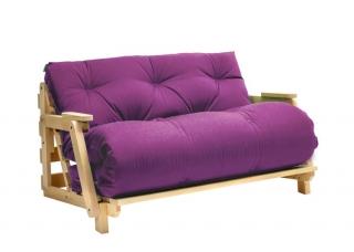 Кресло диван Футон с подлокотниками Purple