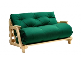 Кресло диван Футон с подлокотниками Green