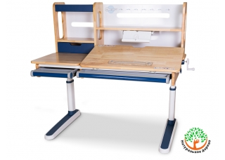 Детский стол-парта Mealux Oxford Wood Lite