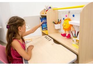 Детский стол-парта Mealux Toronto с полкой
