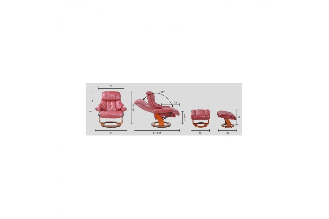 Кресло руководителя Lux Black