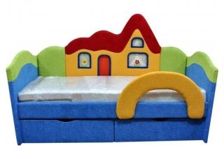 Детский диван Домик Blue
