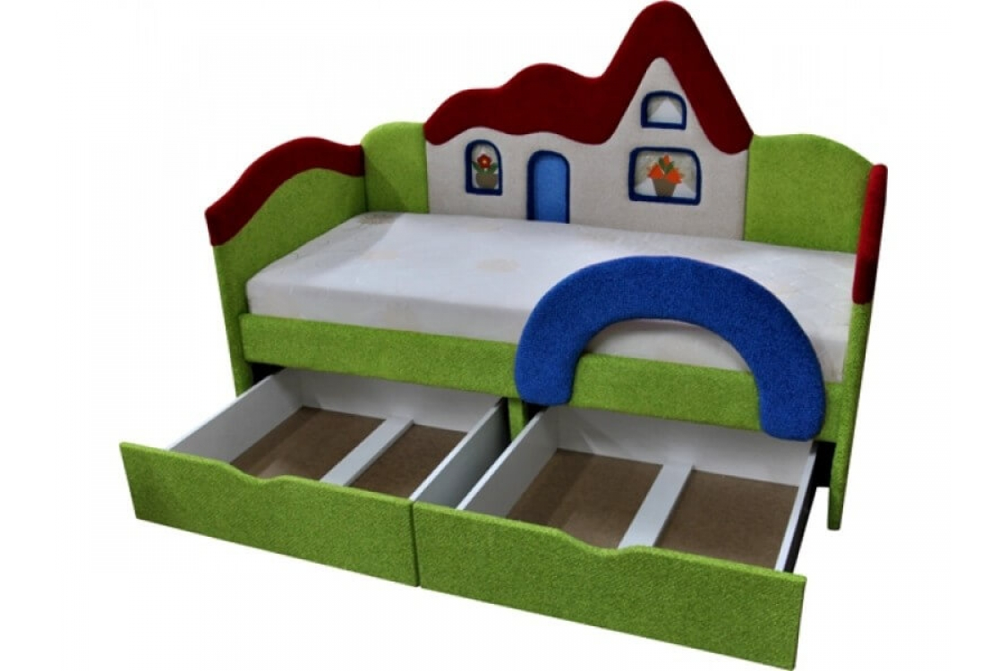 Детская кровать диван Домик