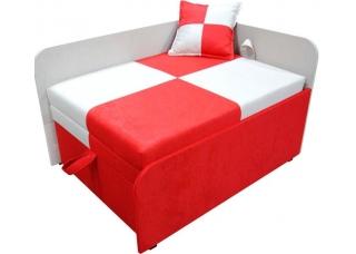Детский диван Мини Red White