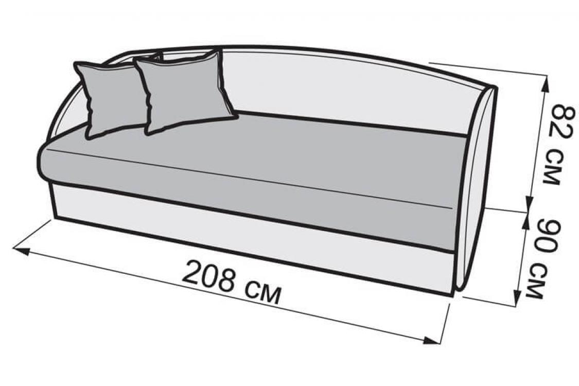 Детский диван Мульти