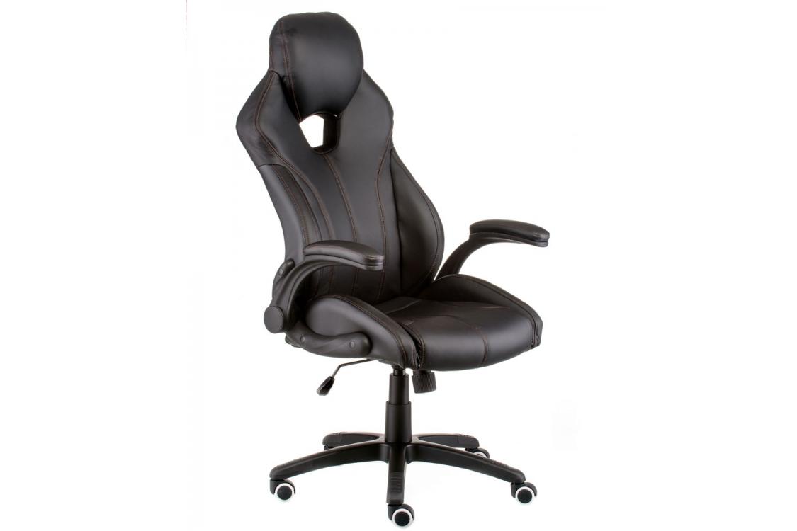 Кресло геймерское Leader black