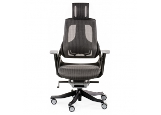 Кресло руководителя Wau charcoal nеtwork