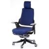 Кресло директора Wau navybluе fabric