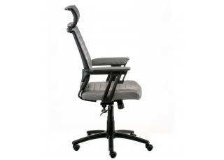 Кресло администратора Monika (Моника) Серое
