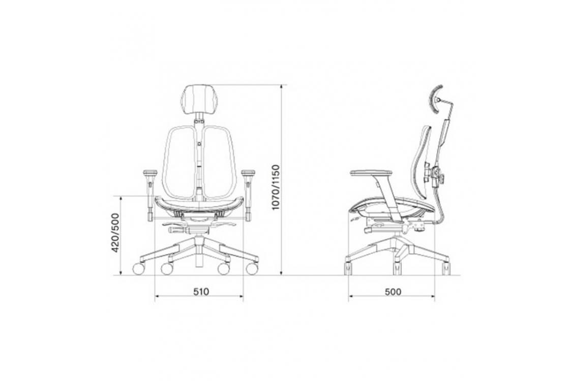 Кресло руководителя Duorest Alpha a60h